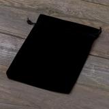 Samtbeutel schwarz