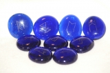 Runen- blau/natur