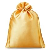 Satinbeutel gold